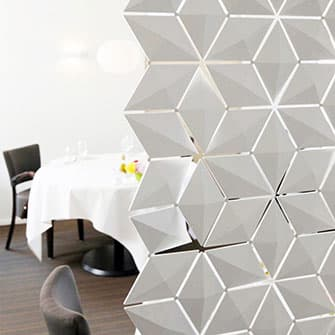 Decorative room divider screens