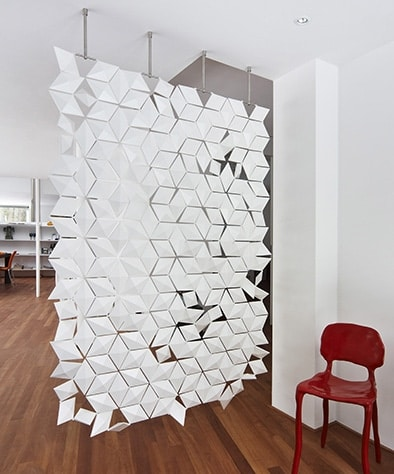 The Most Stylish Hanging Room Divider Screen is Here