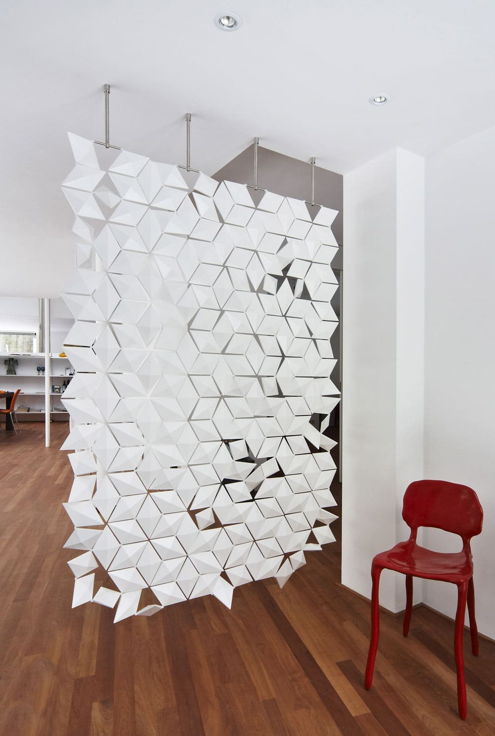 Hanging Room Dividers Room Divider: The Most Stylish Hanging Room Divider Screen Is Here