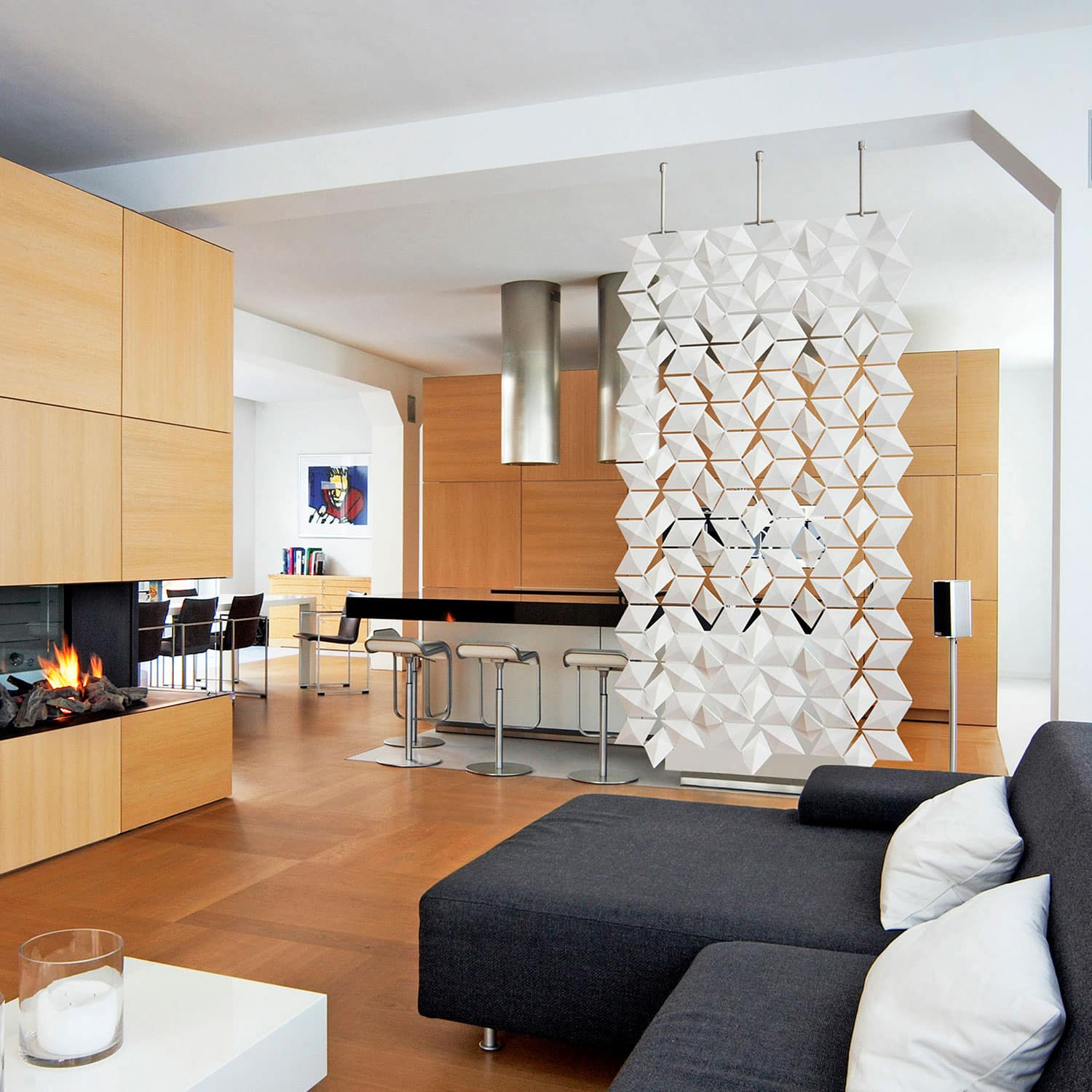 Living Room And Dining Room Divider Ideas Showcase