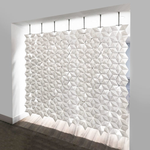 The perfect room divider for a loft