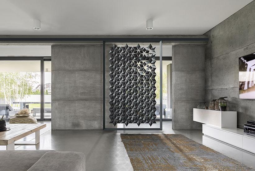 Unique sliding wall divider for maximum flexibility