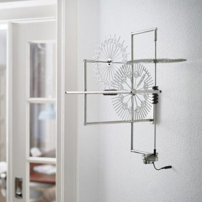 Interior Design Clock Delay Stainless Steel
