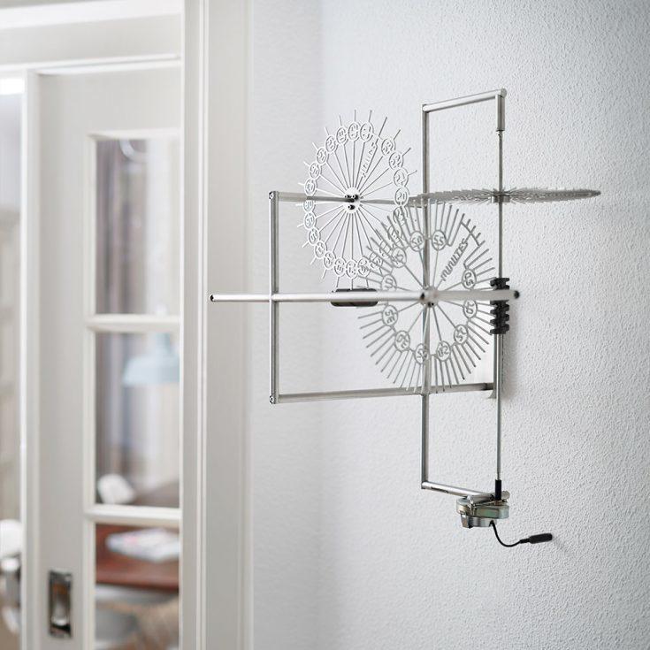 Interior Design Clock Delay Stainless Steel