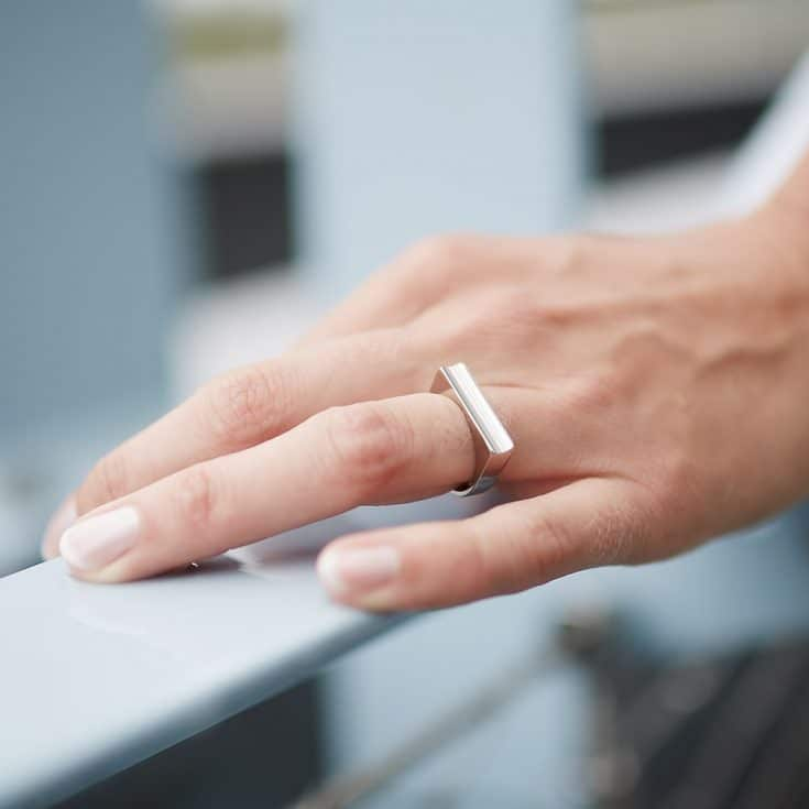 Female Wedding Ring One Bloomming
