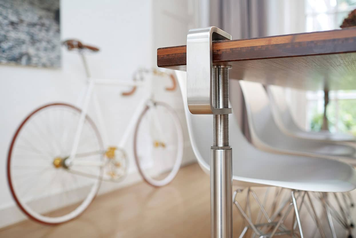 Dining Table Steel Legs Which You Can Attach To Your Table Top