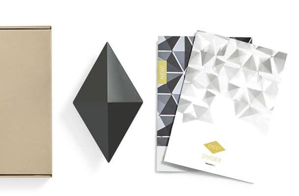 Room Divider Facet Color Sample Box