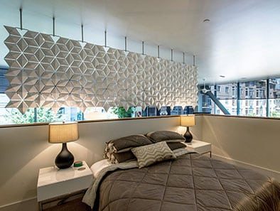 Breathtaking Bedroom and Living Room Divider