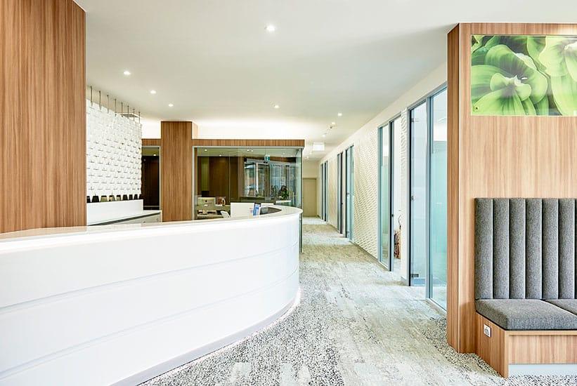 Unique office front desk design: Impress your clients