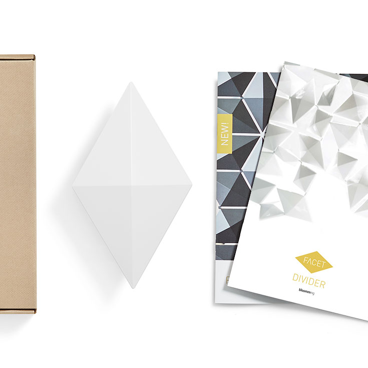 Room Divider Facet Sample Box White