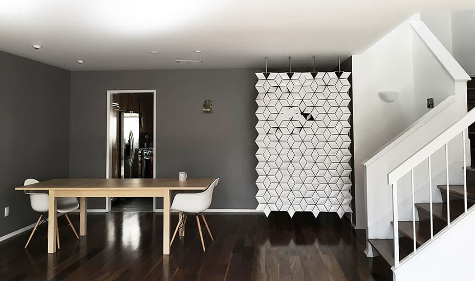 A Warm Welcome With This Entryway Divider