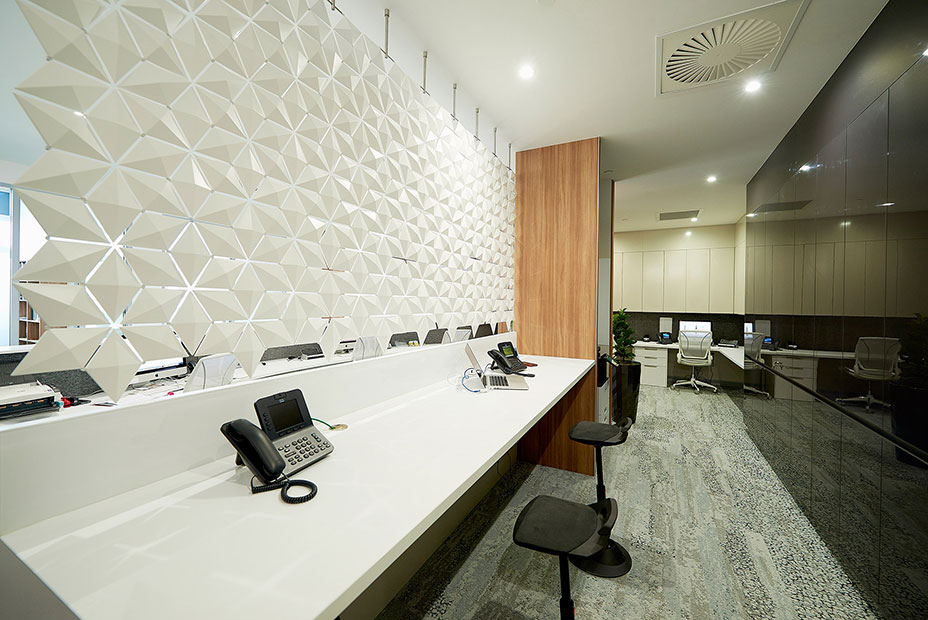 Office Front Desk Design Above Reception Desk