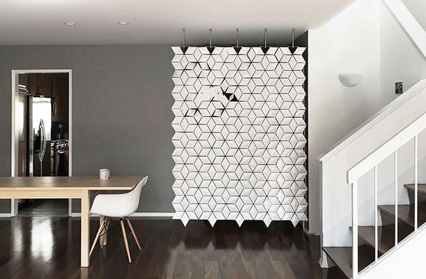 Freestanding Room Divider Facet But Then The Suspended Version