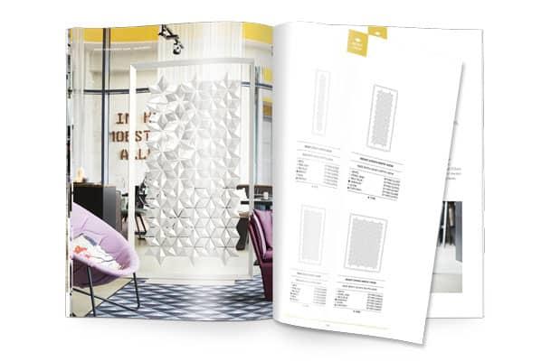 Freestanding Room Divider Facet Brochure