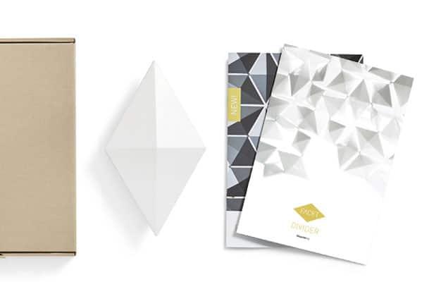 Freestanding Room Divider Facet Color Sample