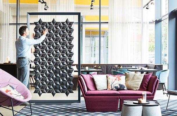 Freestanding room divider Facet preview