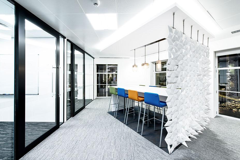 Office Room Divider in meeting room