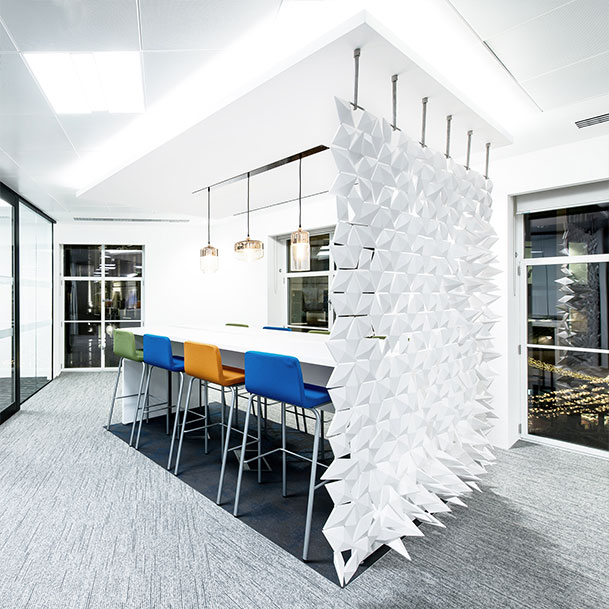 Office room divider for a great design office