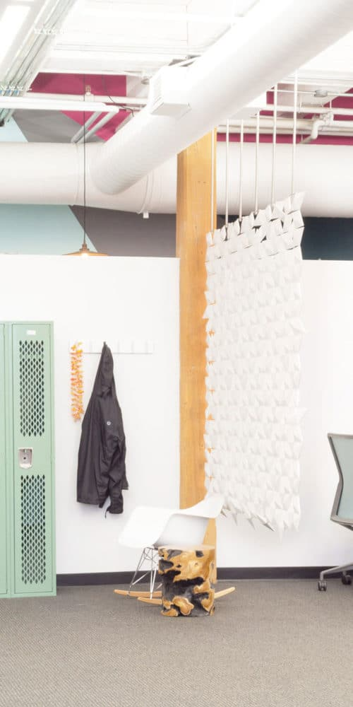 A room partition divider with style